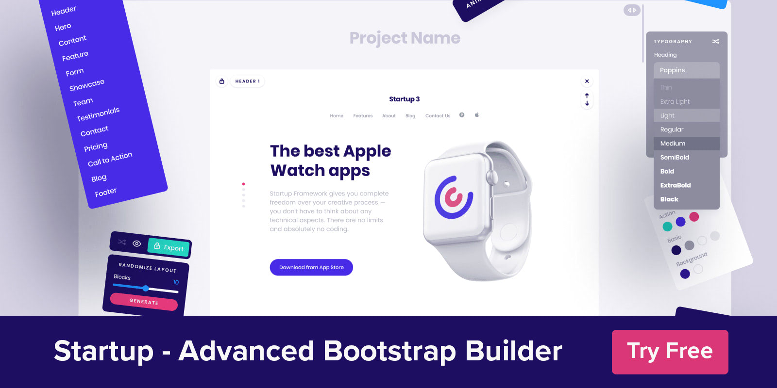 Startup - Advanced Bootstrap Builder